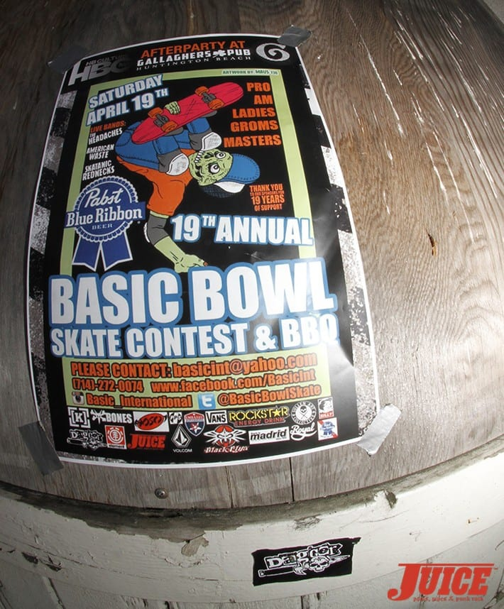 Basic Bowl 2014. Photo: Dan Levy