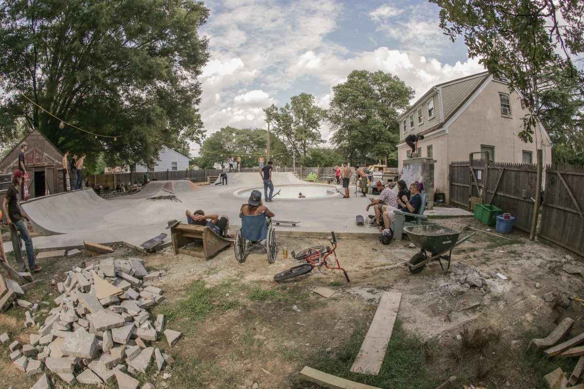 A Diy Backyard Skateboarding Haven In Virginia Juice