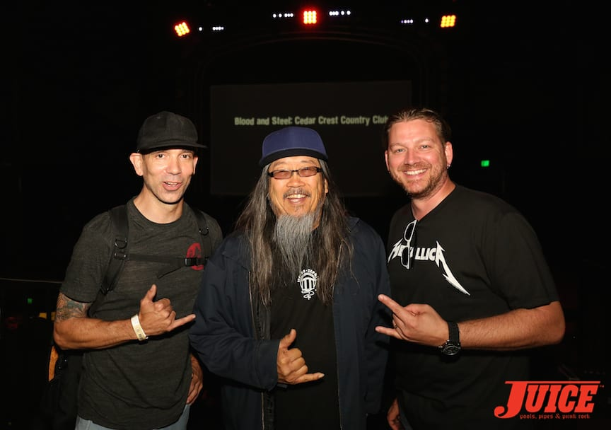 Mike Maniglia, Jeff Ho and Frank Scheuring. Photo by Dan Levy © Juice Magazine