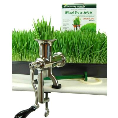 Hurricane Stainless Steel Manual Wheatgrass Juicer