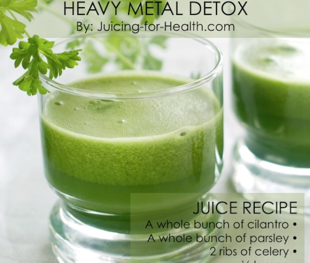 Heavy Metal Detox Drink