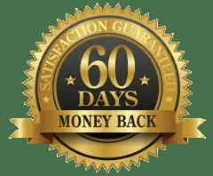 No risk 60 days guarantee seal