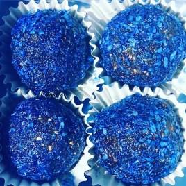 Blue Balls x 4