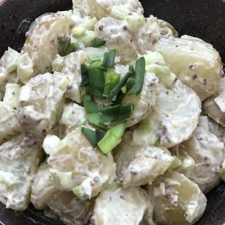 Juicy's Vegan Potato Salad