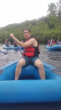Rafting trip in Pocono Whitewater, PA