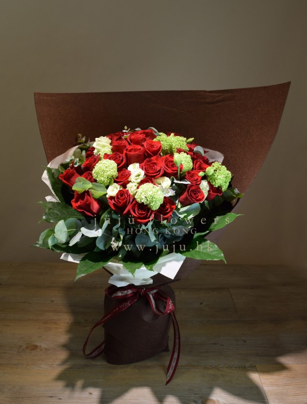 Red Rose BouquetW