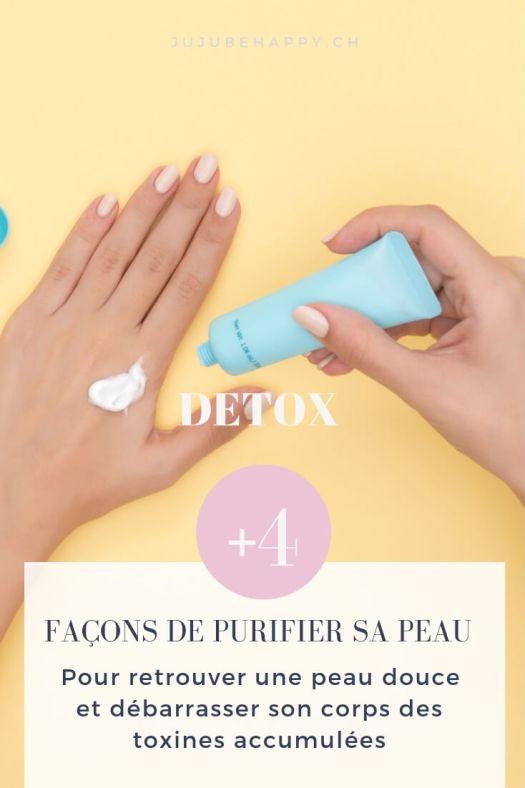 Comment purifier sa peau ? Voici 4 astuces / idées / DIY naturelles pour exfolier sa peau, la rendre toute douce et surtout la détoxifier. Faire partir toutes les toxines de son corps grâce à la peau, c'est possible !