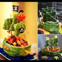 Barco de melancia