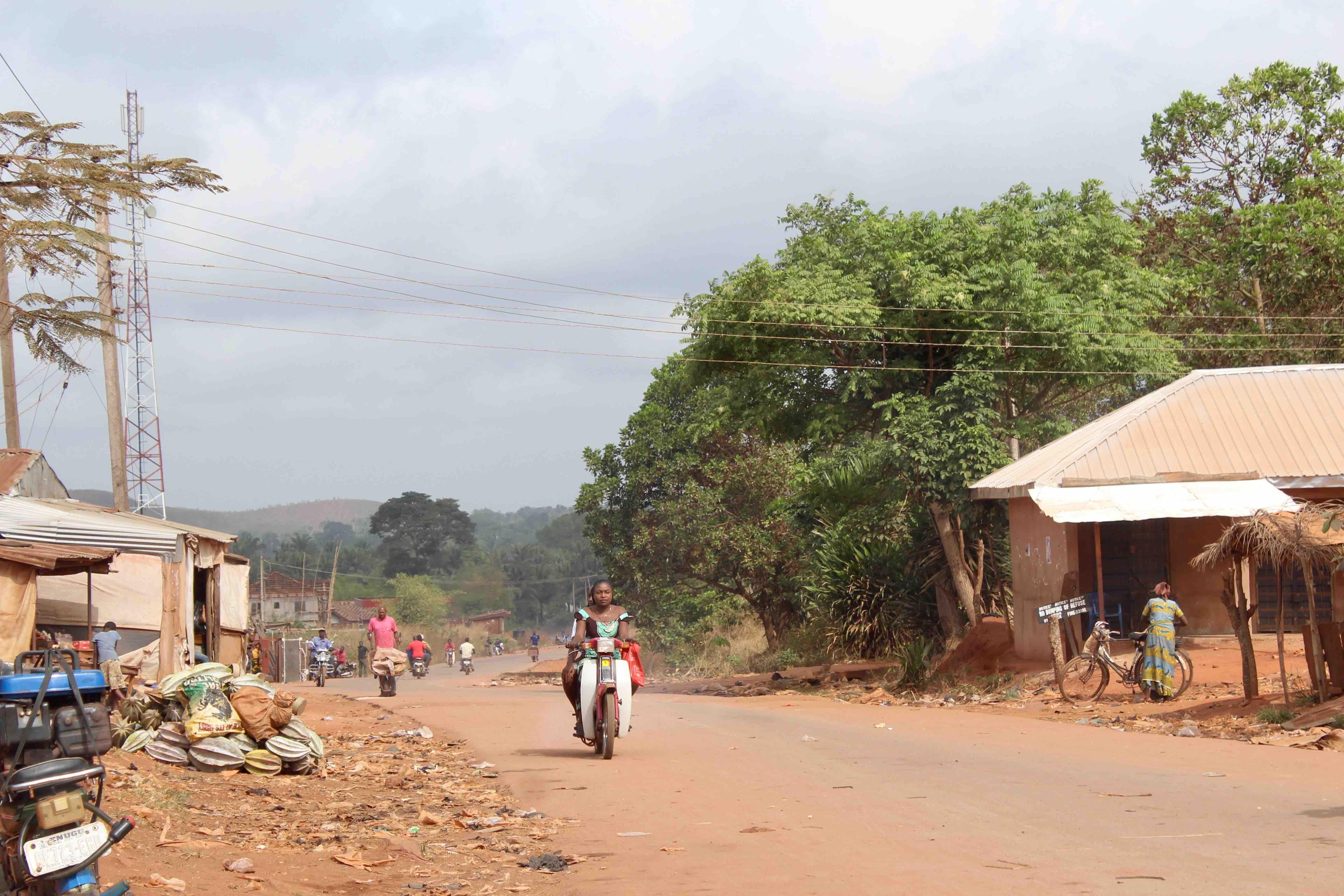 Igbo Women, Motorcycling, Iheaka Village, Enugu State, Nigeria, #JujuFilms