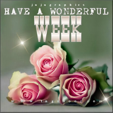Have A Wonderful Week 1 Graphics Quotes Comments Images Amp Greetings For Myspace Facebook