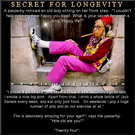 Secret For Longevity Graphics Quotes Comments Images Amp Greetings For Myspace Facebook