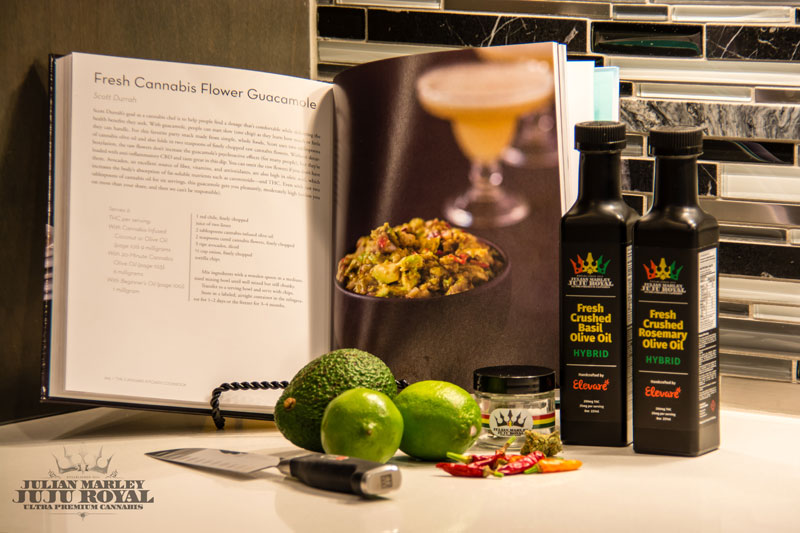 Vegan Recipes With JuJu Royal's THC- infused Olive Oil