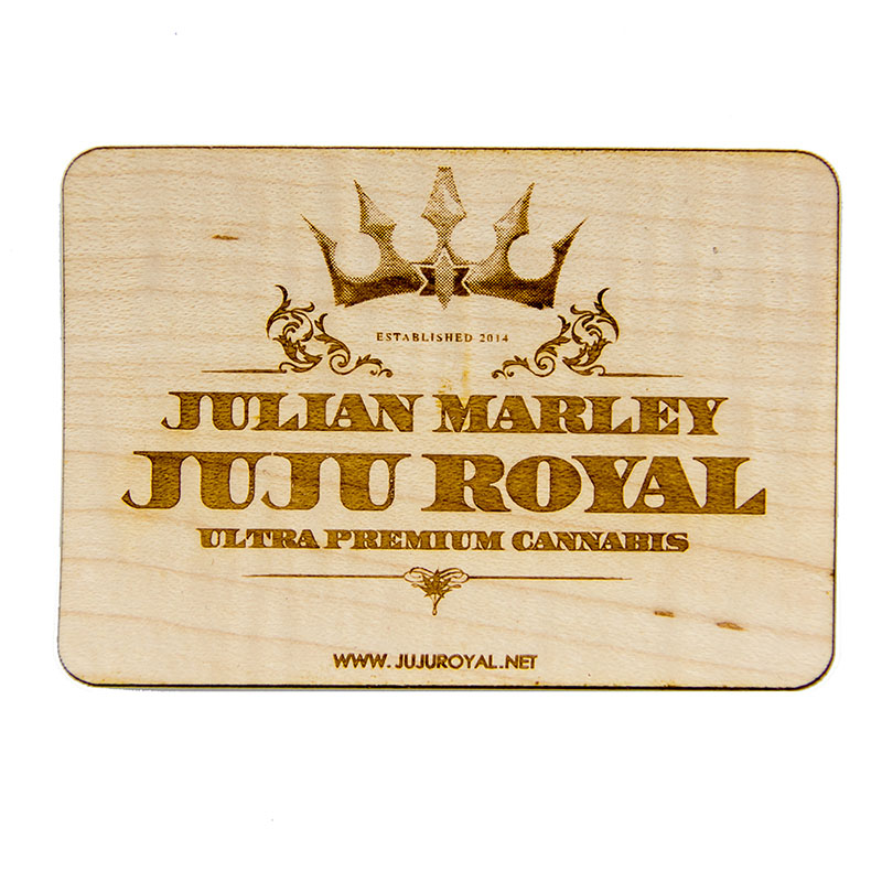 JuJu Royal Wood Sticker