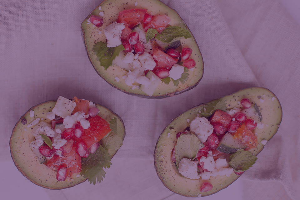 Ginger Watermelon Avocado Boat - Julian Marley JuJu Royal