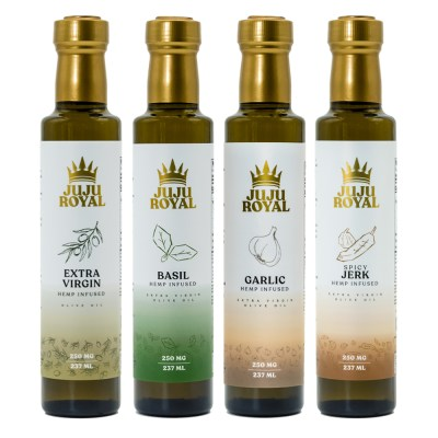 Julian Marley JuJu Royal Extra Virgin Olive Oil