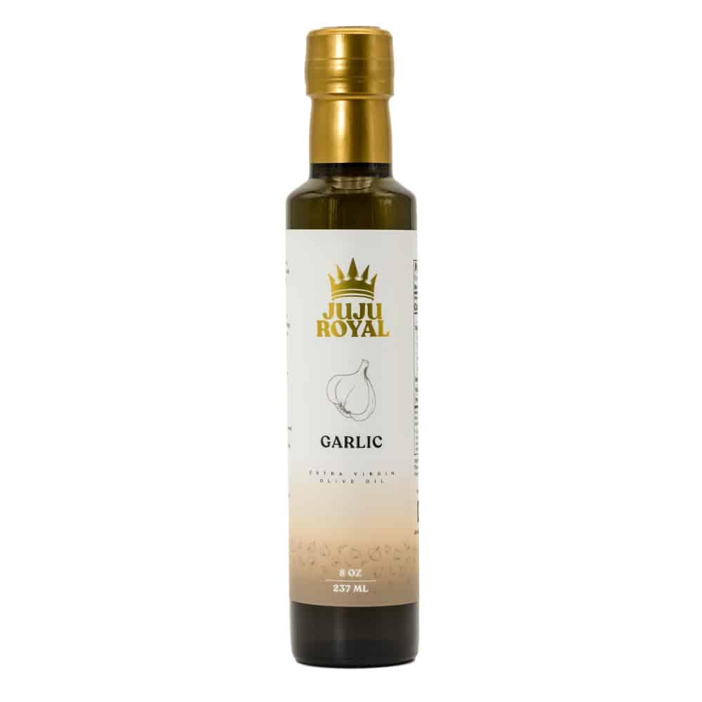 Julian Marley JuJu Royal Garlic Extra Virgin Olive Oil