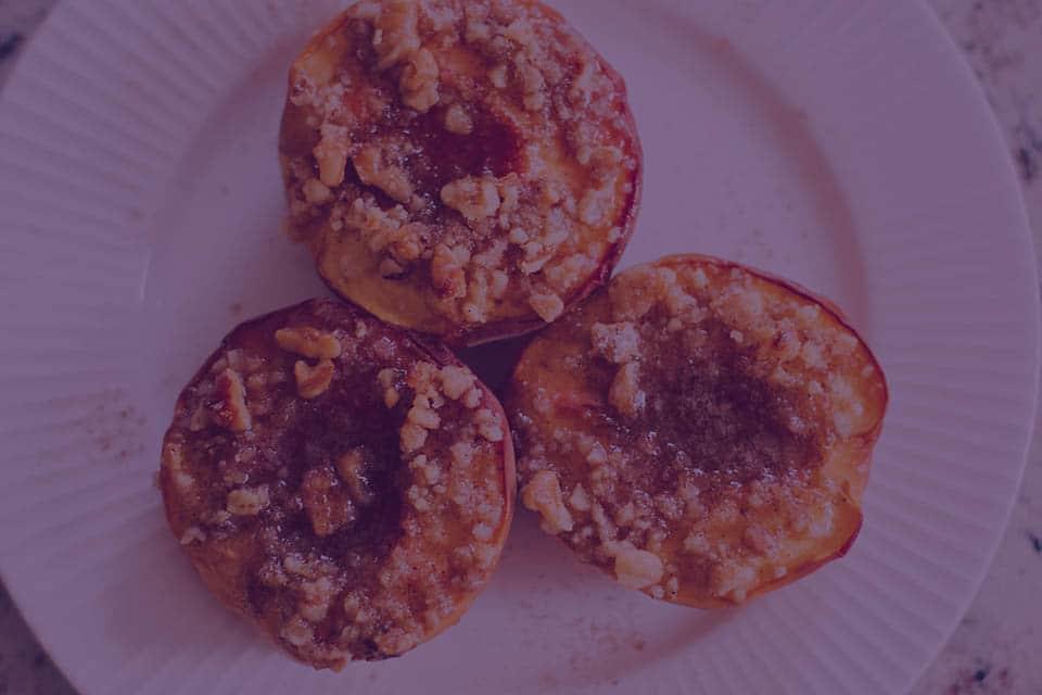 Grilled Ginger Honey Peaches - Julian Marley JuJu Royal