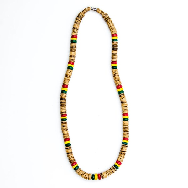 JuJu Royal Rasta Coco Necklace