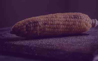 Roasted Basil Corn