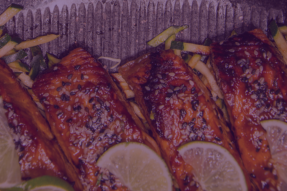 Teriyaki Salmon - Julian Marley JuJu Royal