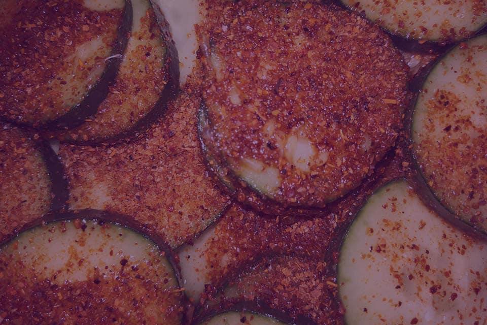 Crispy Zucchini Jerk Chips - Julian Marley JuJu Royal