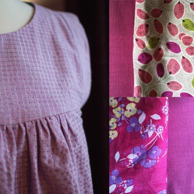 Alice Top with fabrics at jujuvail.com