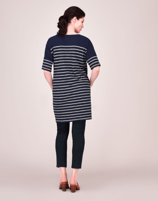Toast Stripe Jersey dress