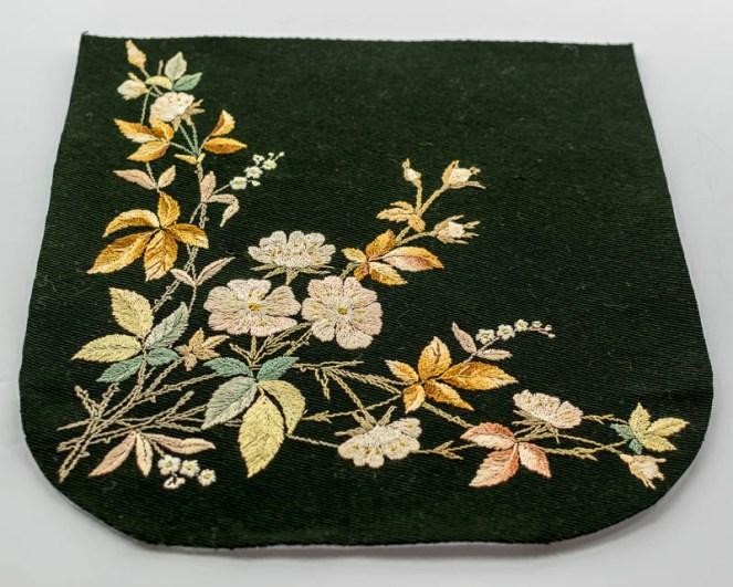 antique textile, vintage fabric at jujuvail.com