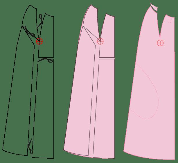 Pilva coat adjustments