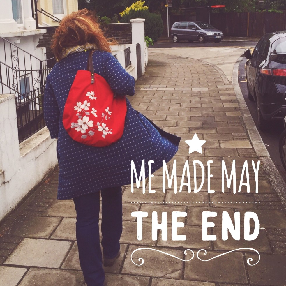 The End of Me Made May jujuvail.com