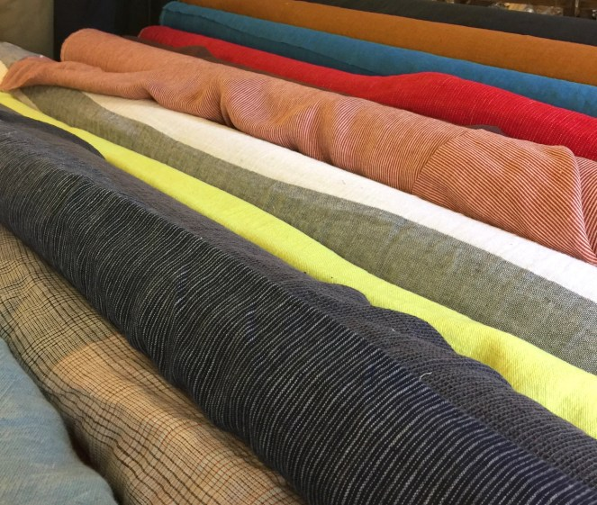 Linen fabrics at Merchant and Mills