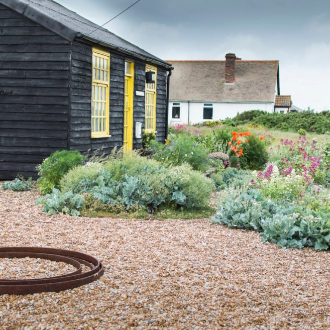Derek Jarman's house in Dungeness