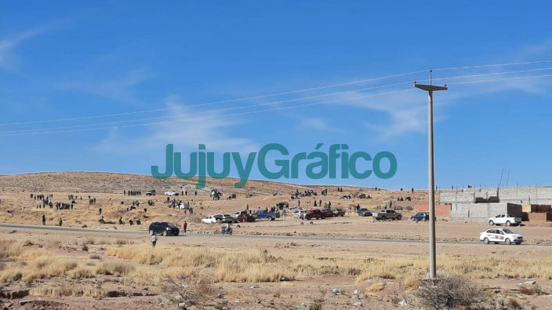Denunciaron a los usurpadores de tierras en La Quiaca 1