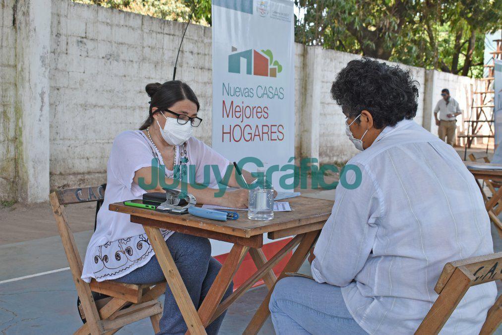 En Caimancito avanza la construccion de 50 viviendas del IVUJ 2