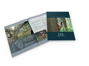 Imagebroschüre TTW Waldpflege