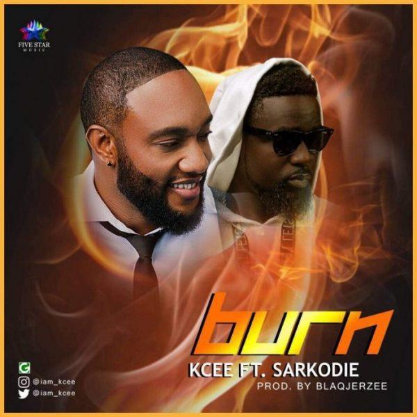 Kcee – Burn ft. Sarkodie (Prod By Blaq Jerzee)