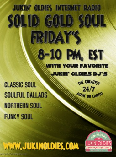 Solid Gold Soul Friday's 5 August 2021