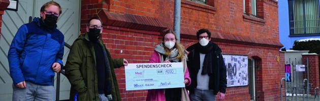 Großzügige Spende der MHB – Studis // wir sagen DANKE