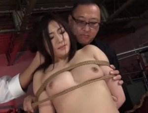 【加納綾子】人妻オンナ教師が緊縛奴隷堕ち!縛られて恥汁垂らす聖職者の清いカラダ…