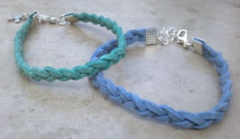 Braided Suede Bracelets