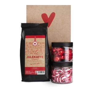 Julekaffe, Sjokoladehjerter og polkadrops