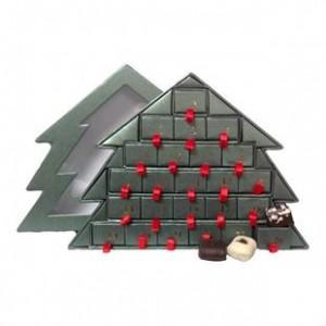 pakkekalendere til voksne, økologisk julekalender, økologisk chokolade julekalender, julekalender med økologisk chokolade