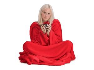 tæppe med ærmer, snug rug deluxe, snug rug, tæppe med ærmer, tæppe med arme, coolstuff, julegaver til hende, julegaver til kvinder, hyggelige julegaver,