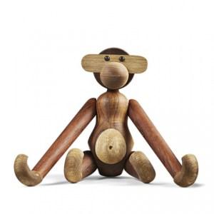 Kay bojesen, kay bojesen dyr, dyr fra kay bojesen, trædyr fra rosendahl, aben fra kay bojesen, kay bojesen garder