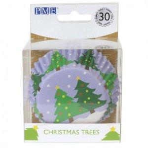 julekrymmel, krymmel til jul, krymmel med juletræer, krymmel med julemand, julekrymmel, muffin forme med juletræer, juletræer muffin forme