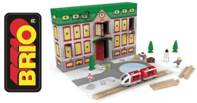 brio julekalender, julekalender til børn, julekalender til de mindste, julekalender brio, brio julekalenderen, juleklaender med togbane