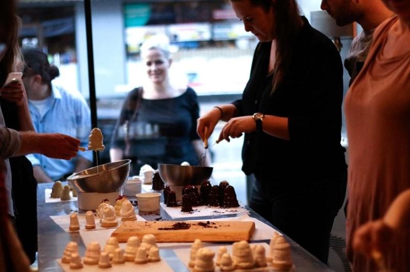 bagekursus, flødebolle kursus, flødebollekursus, lær at lave flødeboller