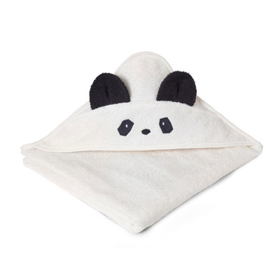 panda håndklæde, gaver til nyfødte, gaver til babyer, håndklæde med panda, panda håndklæde,