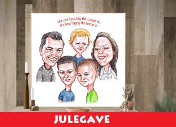 karikatur-familie-foto