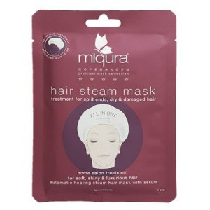 Masque Me Up Hair Steam Mask, hår maske, hårkur, miqura hårkur,